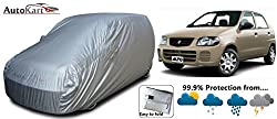 Auto-Kart Car Body Cover for Maruti Suzuki Alto (Old) Free car cleaning cloth and car cleaning Brush