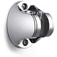 thanly portatile design elegante supporto da parete, in ABS cromato soffione fisso staffa supporto soffione doccia Spray Bagno accessori