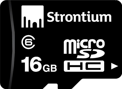 Strontium 16GB Micro SDHC Memory Card (Class 6)  available at amazon for Rs.499