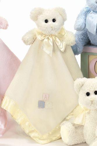 Bearington Baby FESTE UMARMUNGEN gelbe Sicherheits-Decke