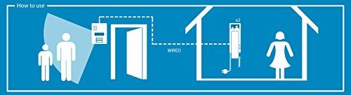 Smartwares Video-Türgegensprechanlage für 2 Teilnehmer, VD62 SW - 4