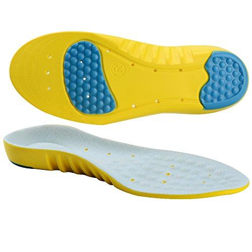 Soumit-Ultra-Soffice-Antiurto-Sport-Solette-S-EU-34-37-Comfort-Traspirante-Unisex-Solette-con-Sostegno-DellArco-Plantare-Eccellente-Assorbimento-Degli-Impatti-per-Correre-Jogging-Riduce-I-Affaticament