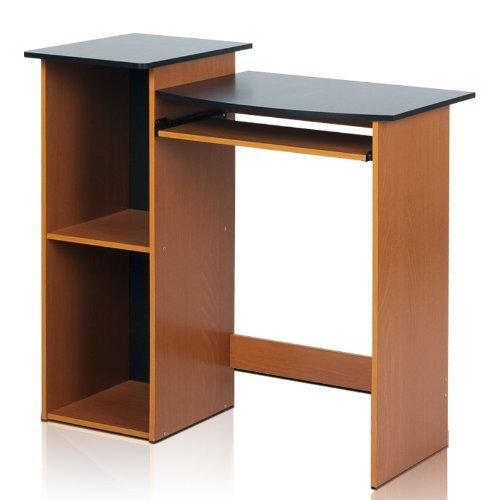Furinno Laptoptisch 99914r1lc/BK ECON Mehrzweck-Computer Schreibtisch, Cherry/schwarz