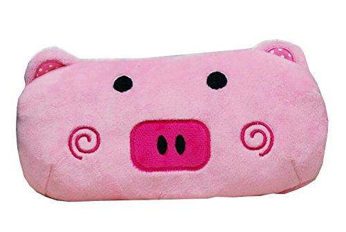 Nette rosa Schwein-Cartoon-Tierplüsch-Bleistift-Kasten-Beutel (Cartoon-bleistift-kasten)