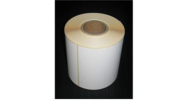 1000 Thermoetiketten 100 x 50 mm Thermo Eco Papier permanent 40 mm Kern