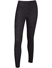 Tenn Ladies Unpadded Polka Dot Cycling Leggings/Tights - Black/Pink