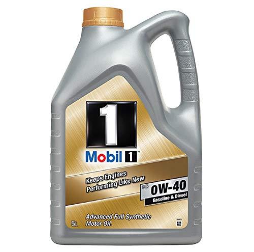 Mobil 1 New Life 151048 0W40 - Olio motore completamente sintetico, 5