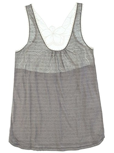 Top donna Roxy Roxy Cocoa Tank top heather grey dream stripe