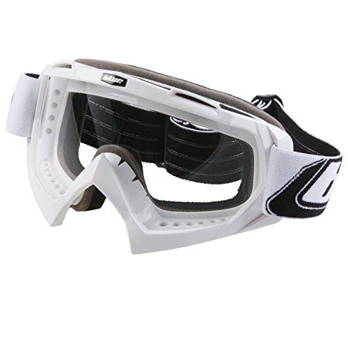 O'Neal B-Flex MX Goggle DH Cross Brille Weiss Moto Cross Mountain Bike MX MTB FR Enduro, 6024B-204