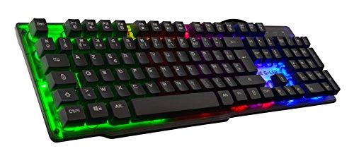 THE G LAB   KEYZ Neon   Teclado Gaming Alto Rendimiento