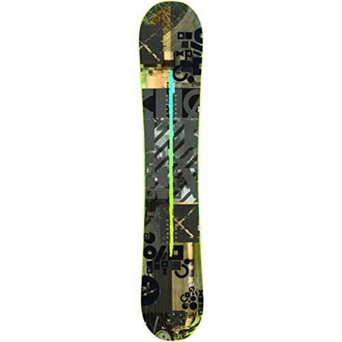 Rossignol Herren Snowboard One LF + Bindung Cuda M/L, Grün, grün, 156 cm