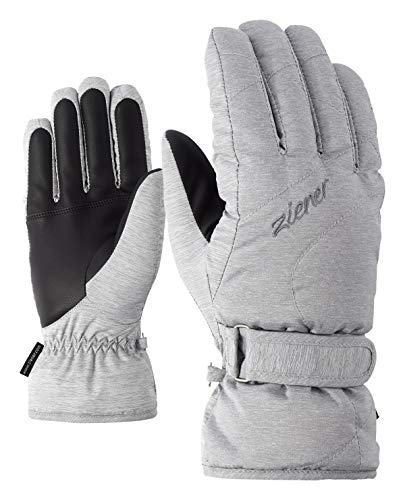 Ziener Damen KADDY lady glove Ski-handschuhe, light melange, 8.5 (XL)
