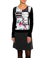 SMASH Ramble Vestido Evasé Estampado-A1682305, Robe de Chambre Femme