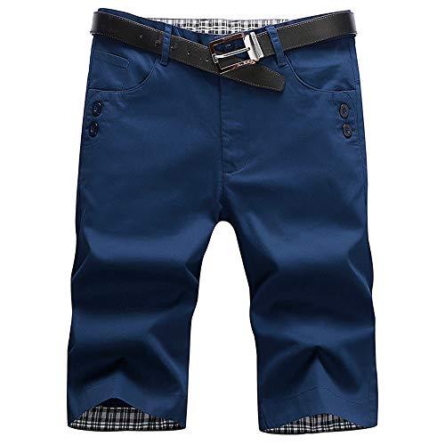 91c6c31ec310 Votre magasin mondial Homme Pantalon Court Décontracté Short Slim Fit Multi  Poches Short de Travail pour