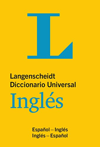 Langenscheidt Diccionario Universal Inglés: Englisch-Spanisch / Spanisch-Englisch