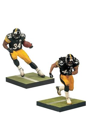 NFL Pittsburgh Steelers 2-Pack Action Figures - Troy Polamalu and Rashard Mendenhall