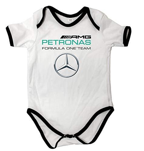 Body de bebé Unisex Mercedes-Benz AMG Petronas Formula UNO Equipo Body de...