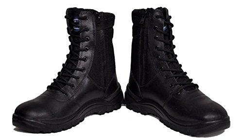 Allen Cooper Combat Safety Boot AC 1095, Size 10,Black