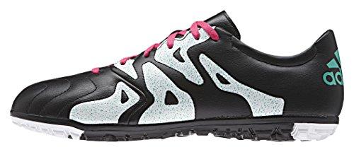 adidas X 15.3 Tf Leather, Chaussures de Football Homme Multicolore - Varios colores (Negro / Rosa / Blanco (Negbas / Rosimp / Menimp))