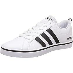 adidas Pace VS, Zapatillas de Deporte Hombre, Blanco (Ftwbla / Negbas / Azul), 42 EU