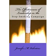 The Effectiveness of Leadership in the Stop Smoking campaign