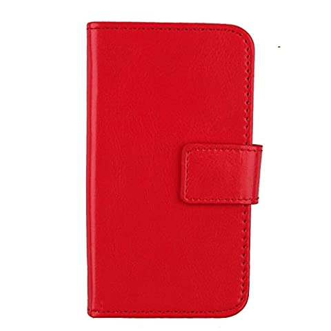 Housse Protection Nokia Rouge - Gukas Cuir Case Protection Pour Nokia Lumia