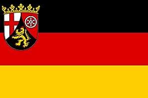 magFlags Flagge: XXXL Rheinland-Pfalz   Querformat Fahne   6m²   200x300cm » Fahne 100% Made in Germany