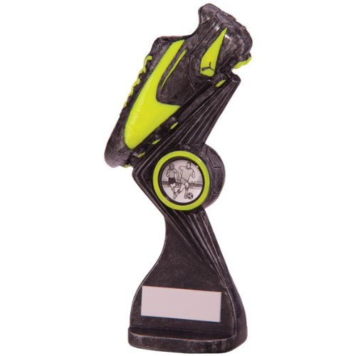 Puma King 160 mm Falcon Trophée de Football attribution Bronze/or/vert Gravure gratuite de 30 lettres TRD/RF4302A