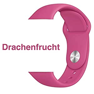 Armband für Apple Watch in Drachenfrucht 38/40mm passend für Apple Watch 1 2 3 4 5