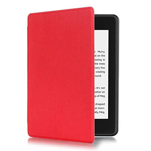 Fmway Custodia in pelle Smart Cover sottile di vibrazione con la funzione auto risveglio / di sonno per Amazon Kindle Paperwhite 10a generazione - 20 Liberazione