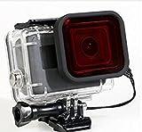 RotFilter für Dive Housing GoPro Hero 6 Hero 5 Gehäuse