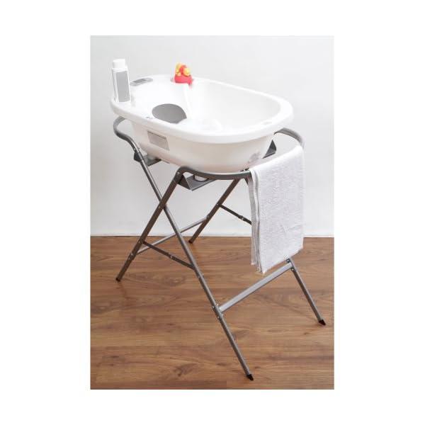 Aqua Scale Bath Stand Silver 3