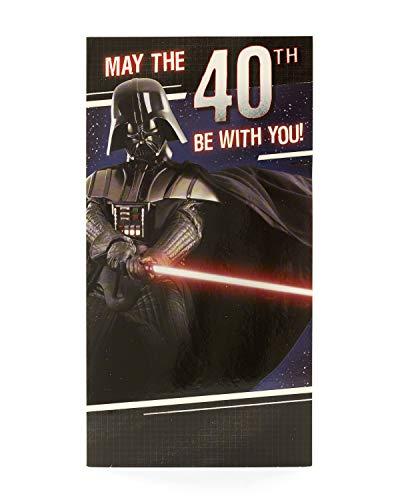 0Star Wars Darth Vader zum 40. Geburtstag Karte ()