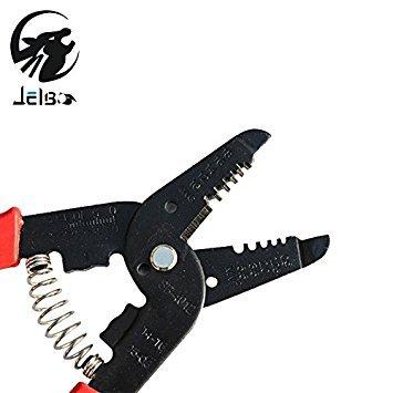 Jelbo Kabel Draht Cutter Stripping Zange Crimper Multifunktions Elektrische Diagonal Zange Crimpen Seite Stripper Hand Tool Kits Neueste Mode Zangen