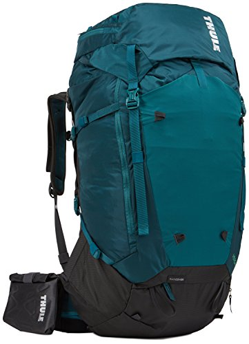 Top Zip Carry On (Thule Damen Versant 70L Women's, Deep Teal, REG)