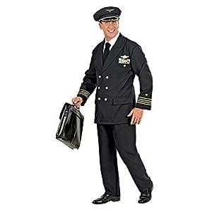 WIDMANN Widman - Disfraz de piloto para hombre, talla L (W5773-L)
