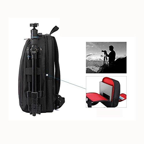 Zaino per fotocamera SLR e accessori Zaini per fotocamera reflex/laptop , Red Red