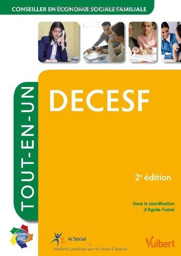 Diplôme d Etat de Conseiller en économie sociale et familiale - DECESF - Tout-en-un par Collectif
