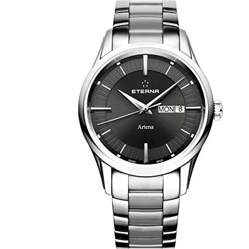 Eterna Artena Reloj de Hombre Cuarzo 40mm Correa de Acero 2525-41-50-0274