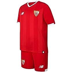 Conjunto jr Sevilla FC Away 2017-2018 Rojo Talla MB