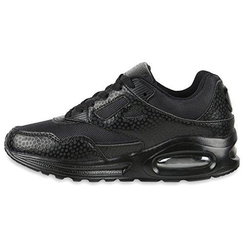 Damen Herren Unisex Laufschuhe Neon Runners Casual Schuhe Sportschuhe Schwarz Schwarz Muster