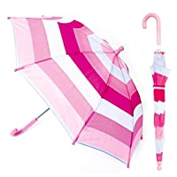 Drizzles Kids Striped Umbrella Rainbow