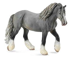 Collecta - Col88574 - Shire Horse Mare - Gris - Talla XL