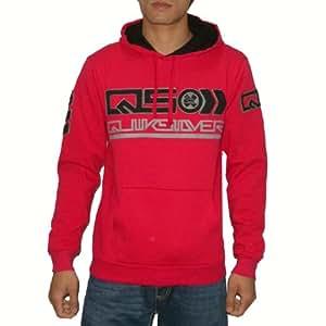 Herren QUIKSILVER WARM SURF & SKATE PULLOVER HOODIE Sweatshirt-Jacke (Größe: XL)