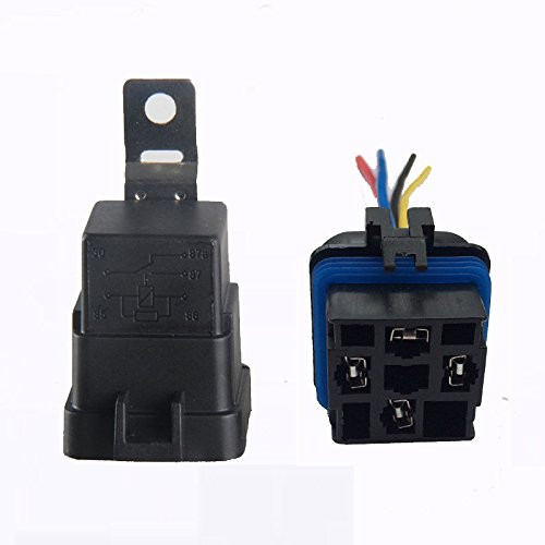Swell Shenlang 40 Amp Waterproof Relay Switch Harness Set 12V Dc 5 Pin Wiring 101 Ferenstreekradiomeanderfmnl