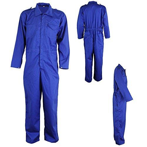 TOOLSCENTRE Cotton Uniform and Work Wear Boiler Suit (Blue)