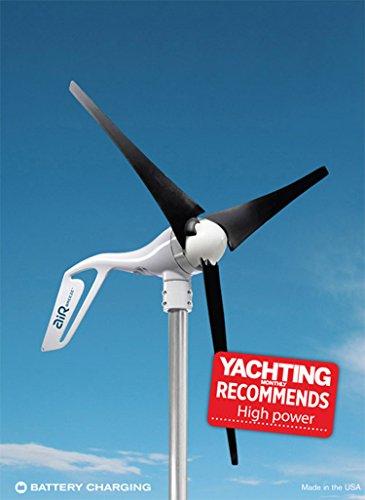 Air Breeze Marine (Air Breeze Marine Wind Turbine, 12V Modell, Built in Regulator., 24 Volt 160 watts)