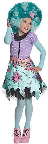 Brandsseller Monster High Honey Swamp Kinderkostüm Mädchenkostüm Karneval Fasching - Größe: - Grüne Monster Mädchen Kostüm