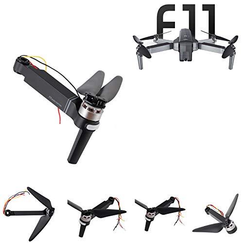 RONSHIN 4 unids SJRC F11 RC Drone Repuestos Ejes Brazos