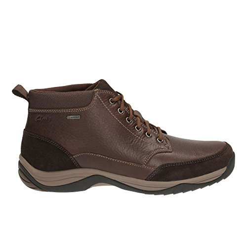 Clarks Men's Lace-Up Gore-Tex Boots BaystoneTopGTX Brown Warm Lined Leather